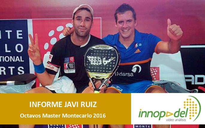 Vídeo análisis e informe estadístico del juego de Javi Ruiz