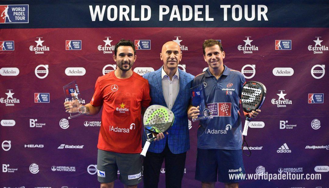Pádel estadística. Los impresionantes datos de Paquito Navarro en la final Sevilla Open